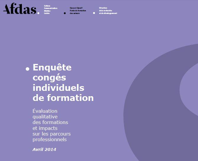 L'Afdas enquête sur le Congé individuel de formation (CIF)