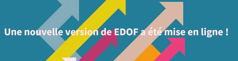 EDOF : une nouvelle version mise en ligne