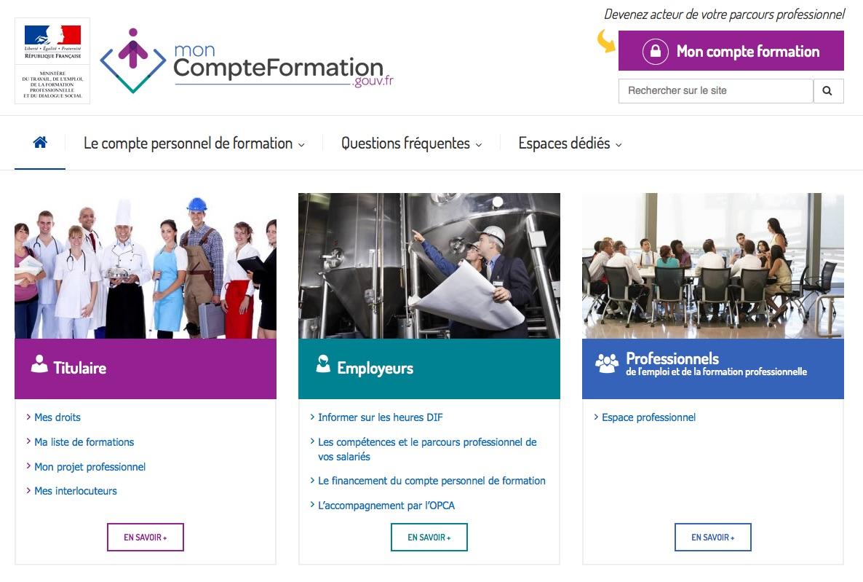 Moncompteformation.gouv.fr : le site officiel du CPF est en ligne