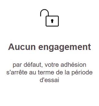 Aucun engagement
